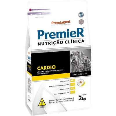 RAÇÃO PREMIER CÃO ADULTO NUTRIÇÃO CLÍNICA CARDIO 2KG
