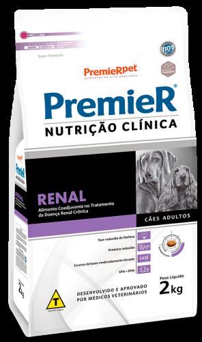 RAÇÃO PREMIER CÃO ADULTO NUTRIÇÃO CLÍNICA RENAL 2KG