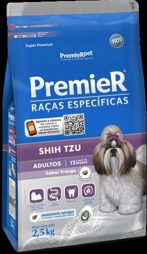 RAÇÃO PREMIER CÃO ADULTO SHIH TZU FRANGO 1KG
