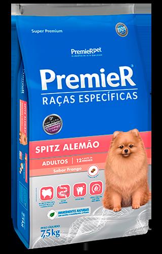 RAÇÃO PREMIER CÃO ADULTO SPITZ ALEMÃO 2,5KG