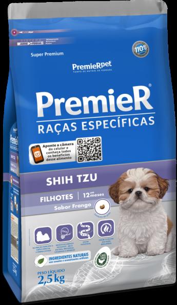RAÇÃO PREMIER CÃO FILHOTE SHIH TZU 1KG
