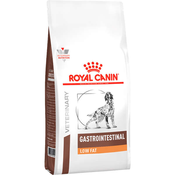 RAÇÃO ROYAL CANIN CÃO ADULTO VETERINARY DIET GASTRO INTESTINAL LOW FAT 1,5KG