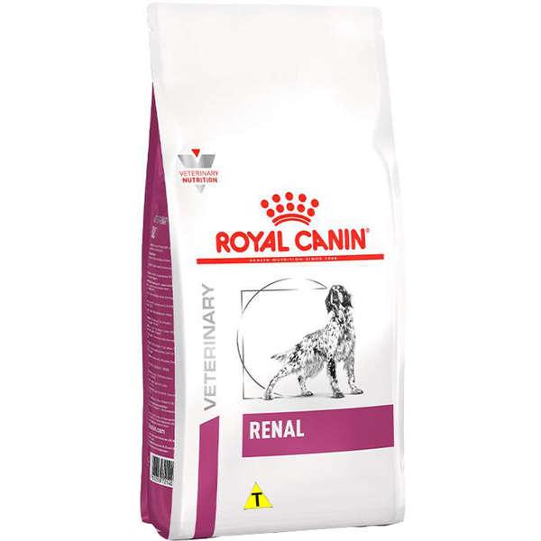 RAÇÃO ROYAL CANIN CÃO ADULTO VETERINÁRIA RENAL 2KG