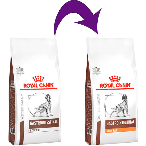 RAÇÃO ROYAL CANIN CÃO ADULTO VETERINARY DIET GASTRO INTESTINAL LOW FAT 10,1KG