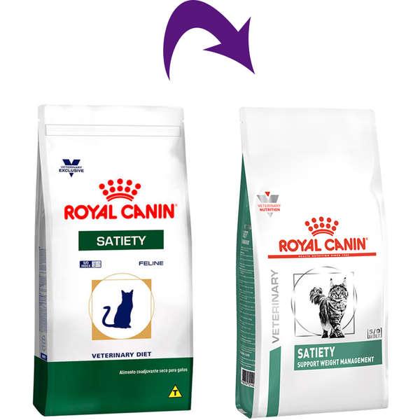 RAÇÃO ROYAL CANIN GATO ADULTO VETERINARY DIET SATIETY 1,5KG