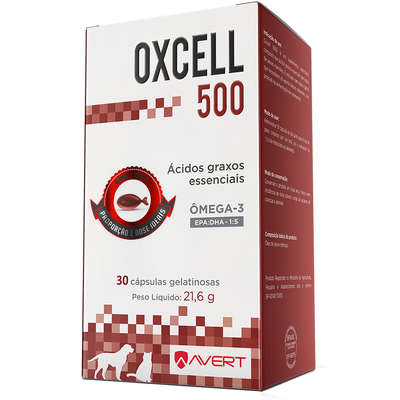 SUPLEMENTO AVERT OXCELL 500MG