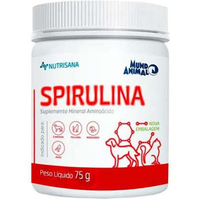 SUPLEMENTO MUNDO ANIMAL NUTRISANA SPIRULINA 75G