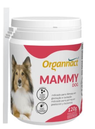SUPLEMENTO ORGANNACT MAMMY PÓ 120G