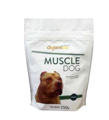 SUPLEMENTO ORGANNACT MUSCLE DOG 250G SACHÊ
