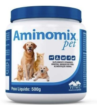 SUPLEMENTO VITAMÍNICO VETNIL AMINOMIX PET 500G
