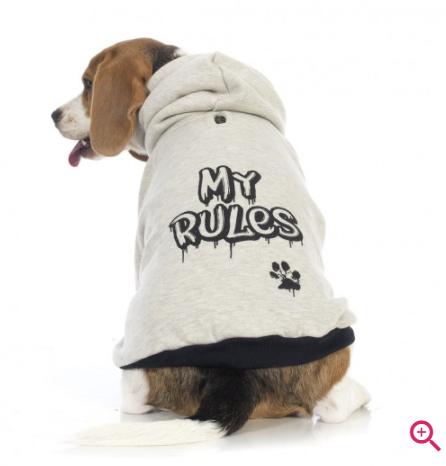 YO DOG MOLETOM MY RULES - G