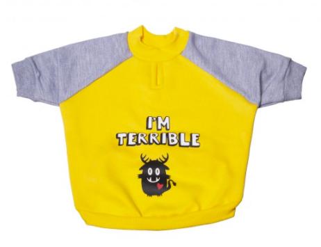 YO DOG MOLETOM TERRIVEL PINK - G
