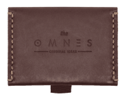"Carteira ""Miura"" Speed Wallet - Café   The Omnes Original Ideas"