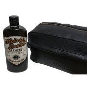 Kit Shampoo Sailor Jack Hidratação e Força + Necessarie de Couro