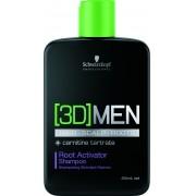 Shampoo Ativador de Raízes 3D Men Root Activator (250ml) | Schwarzkopf Professional
