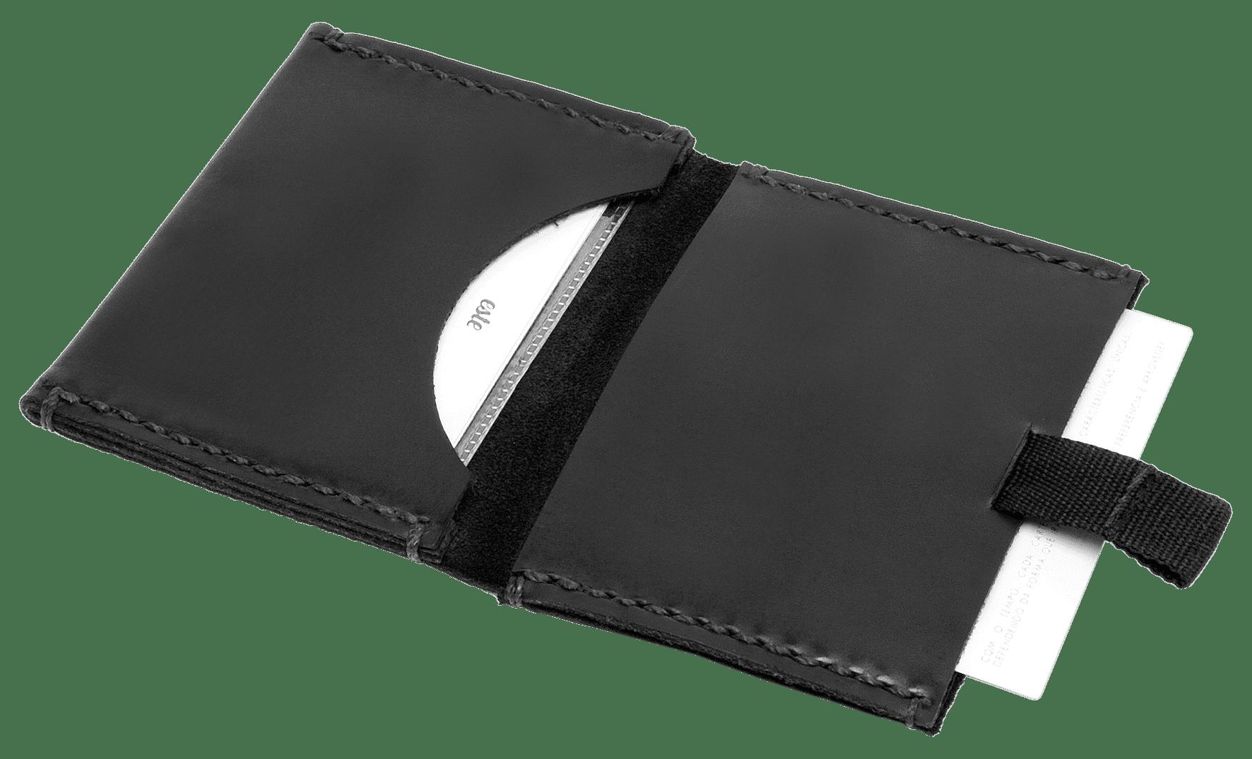 "Carteira ""Miura"" Speed Wallet - All Black | The Omnes Original Ideas"