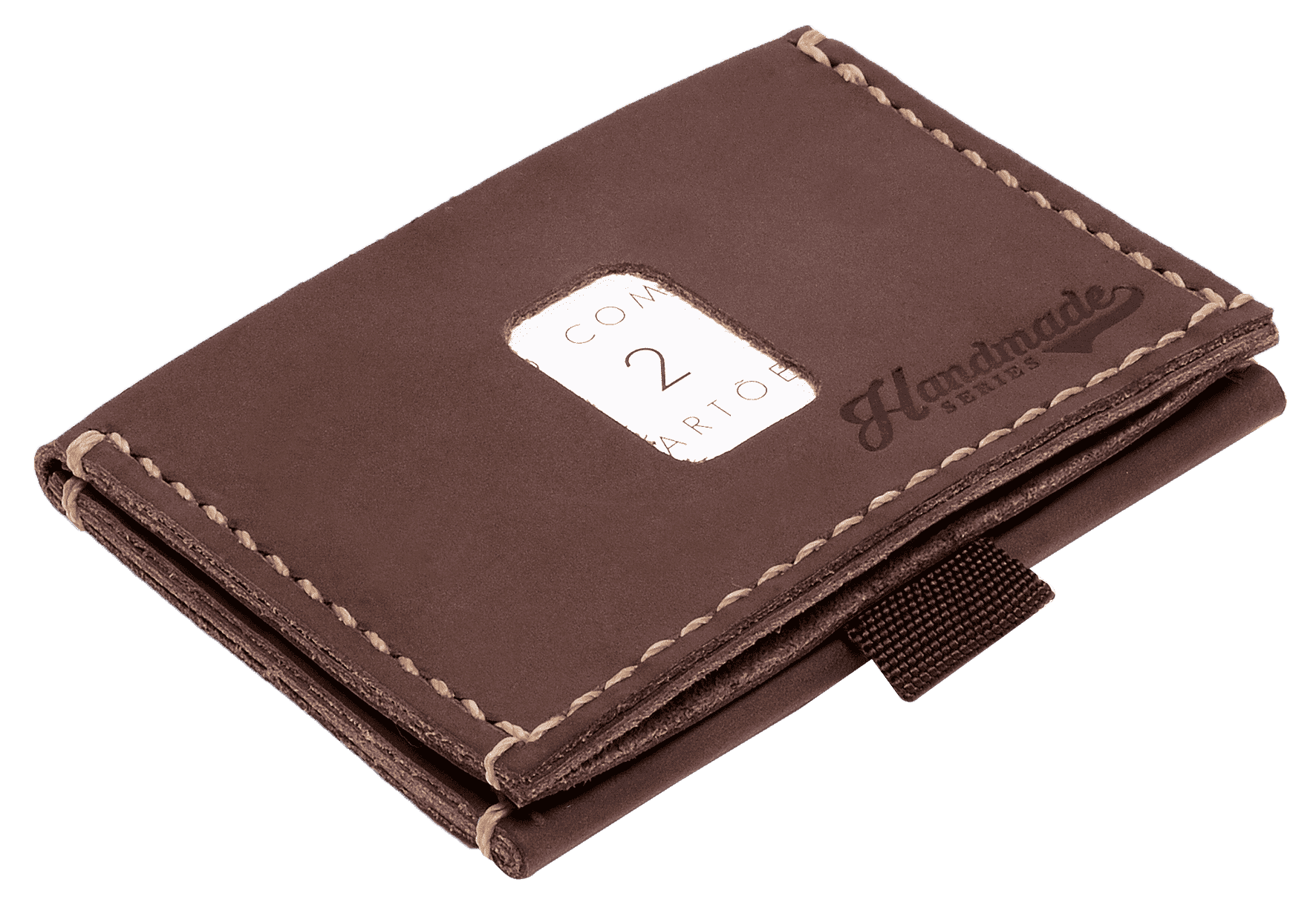 "Carteira ""Miura"" Speed Wallet - Café | The Omnes Original Ideas"