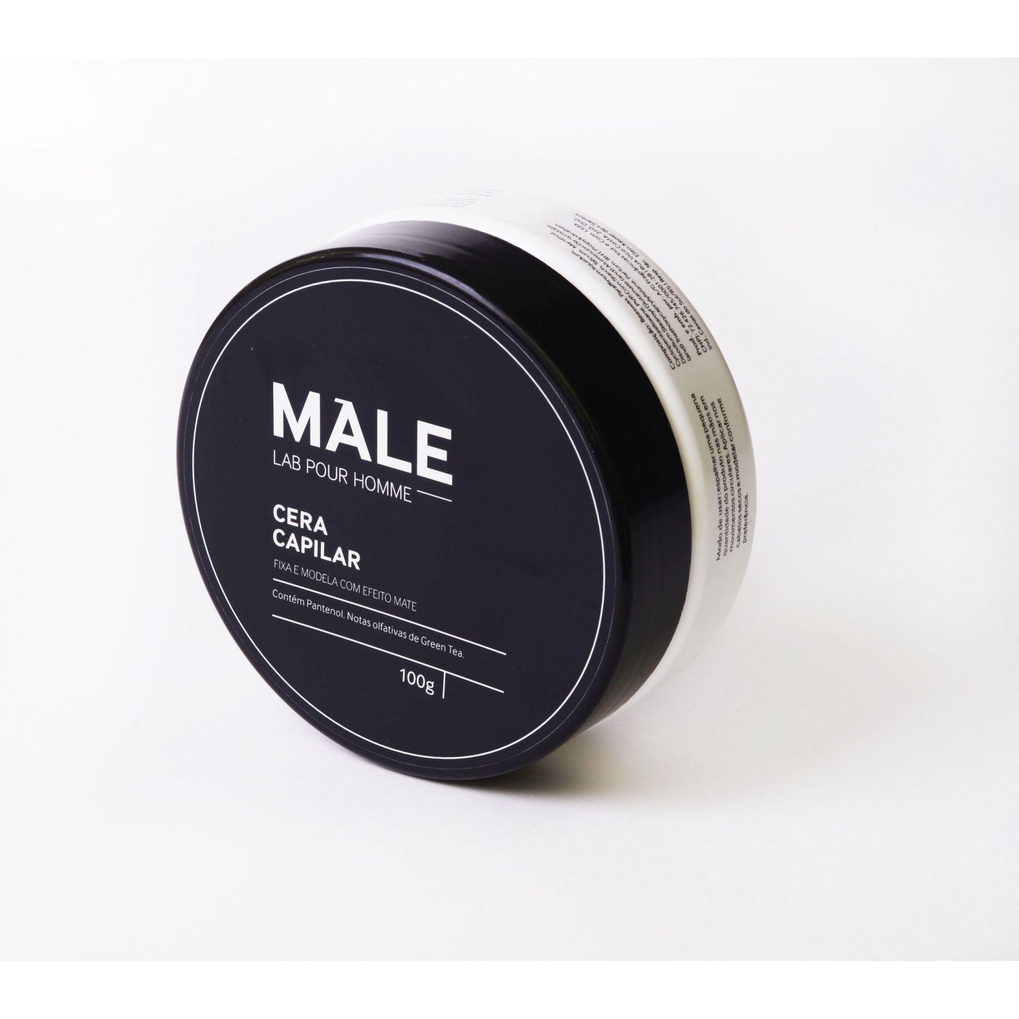 Cera Modeladora Efeito Mate| Male Lab Pour Homme
