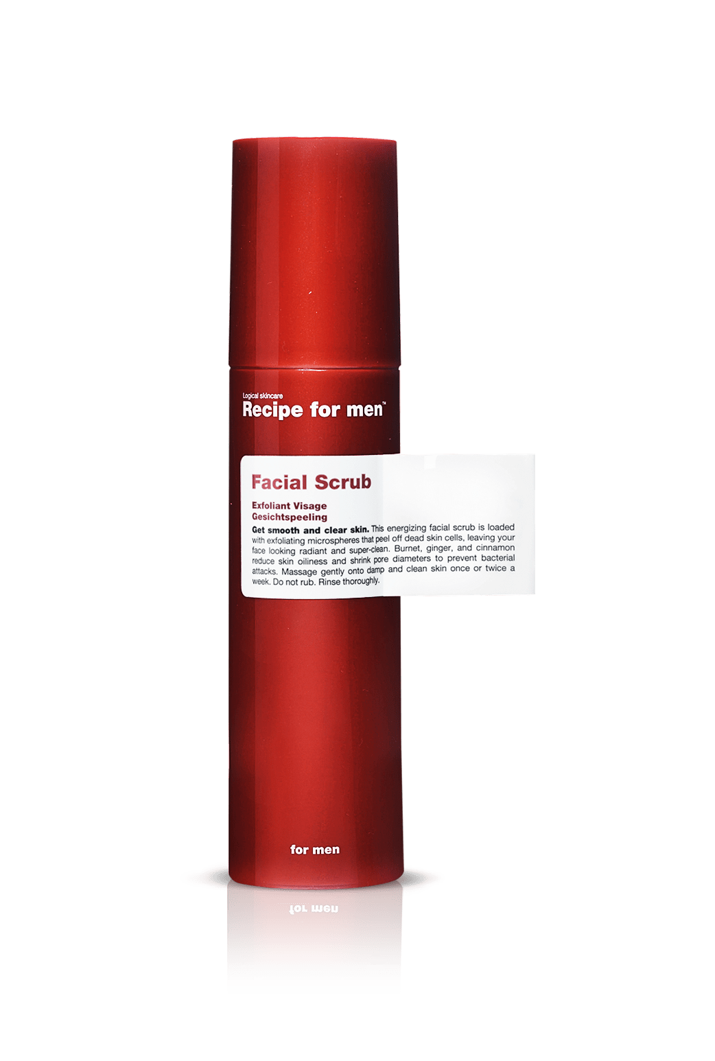 Esfoliante Energizante Facial Scrub | Recipe For Men
