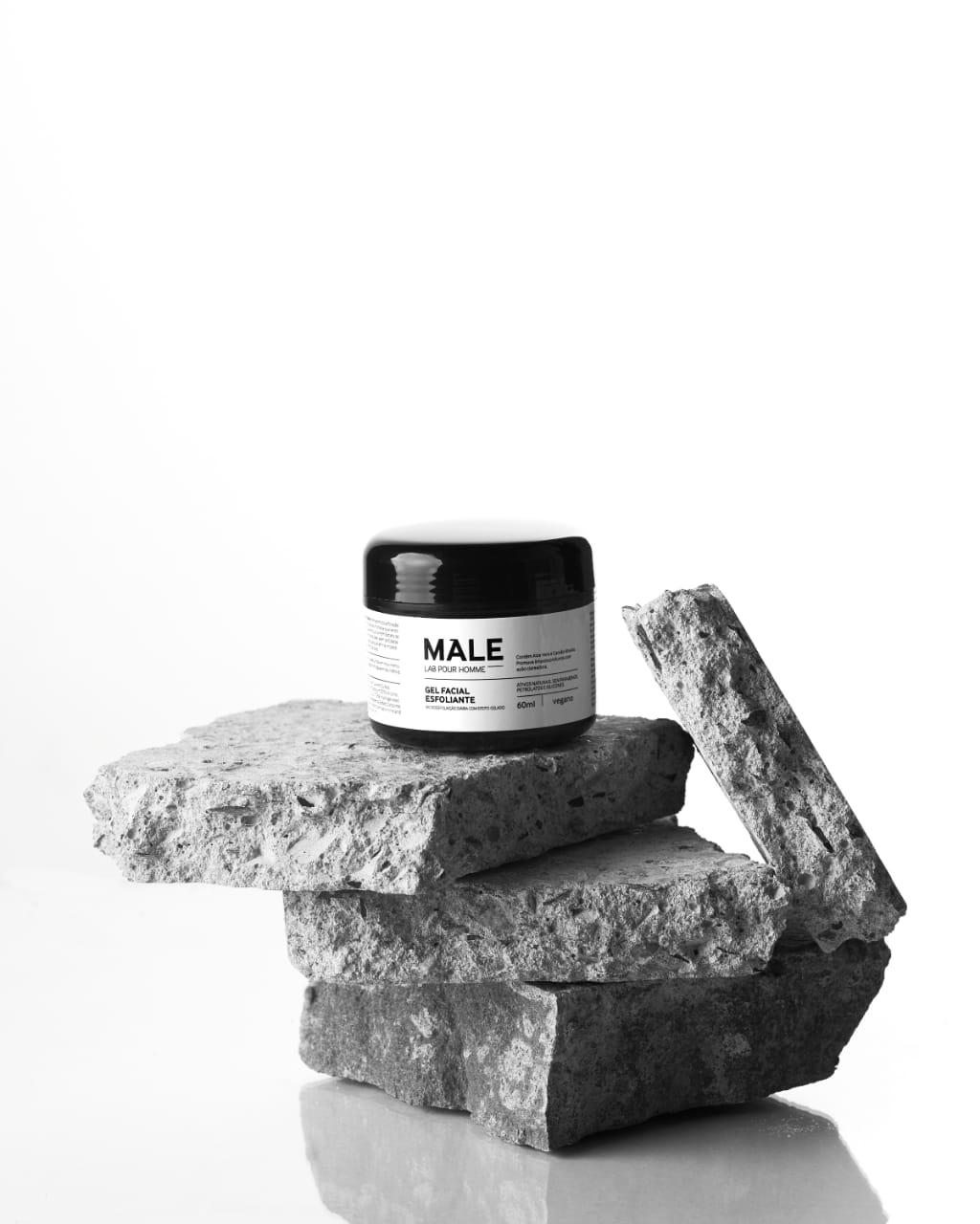 Gel Facial Esfoliante (60ml) | Male Lab Pour Homme