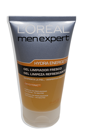 Gel Limpeza Refrescante Expert Hydra Energetic 150ml | L´ORÉAL Men