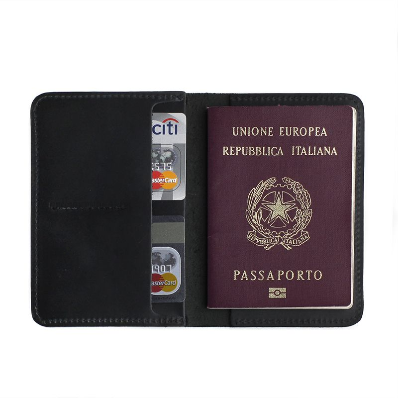Porta Passaporte - Black | CUTTERMAN CO.