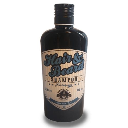 Shampoo para Grisalhos Silver for Gray (250ml) | Sailor Jack