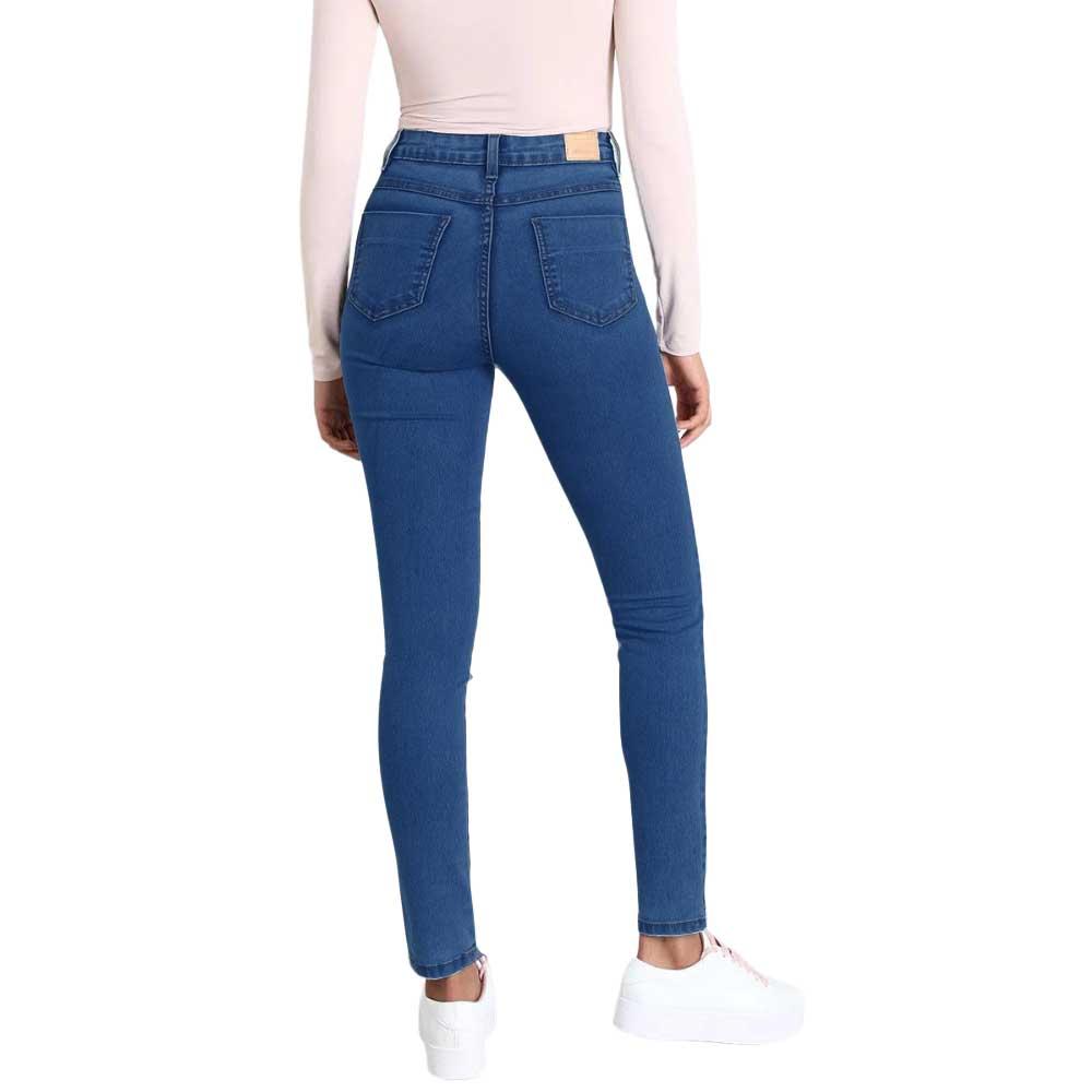 Calça Jeans com Cinta Embutida