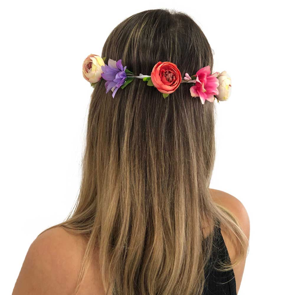 Tiara Flores Variadas