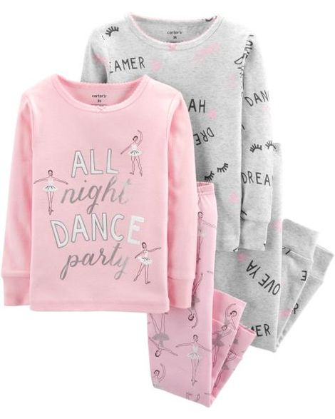 16471c07b Pijama Carters Algodão 4 Peças - 18 Meses - 15944415 - Le Petite Baby Store  ...