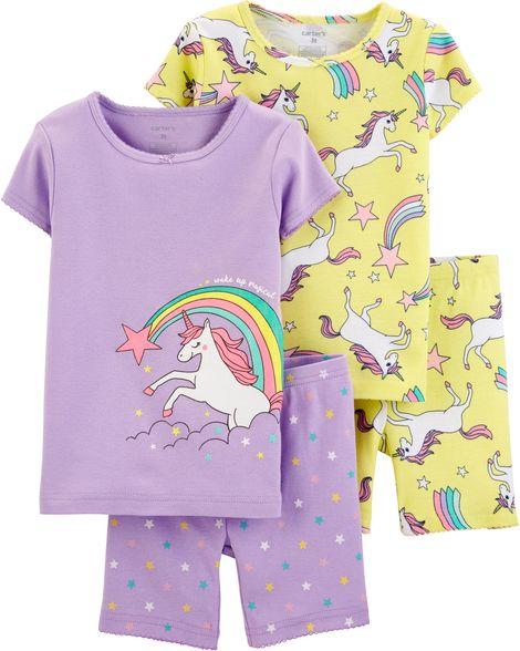 00823b6c8 Pijama Carters Algodão 4 Peças - 18 Meses - 16417313 - Le Petite Baby Store  ...