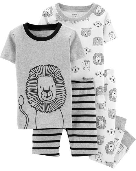 676d4c4f5 Pijama Carters Algodão 4 Peças - 18 Meses - 16484310 - Le Petite Baby Store  ...
