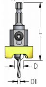 WPW - ESCAREADOR PROFISSIONAL ALUM 12MM C/ BROCA 4,5MM -HEX/70
