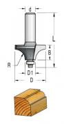 WPW - FRESA RAIO CONCAVO C/ ROL - (R6,3) - 25,4MM X 11MM X 12,7 - H6/50