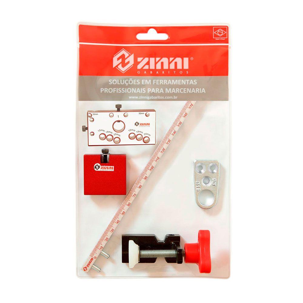Kit Gabarito para  Minifix (Encartelado) - Zinni
