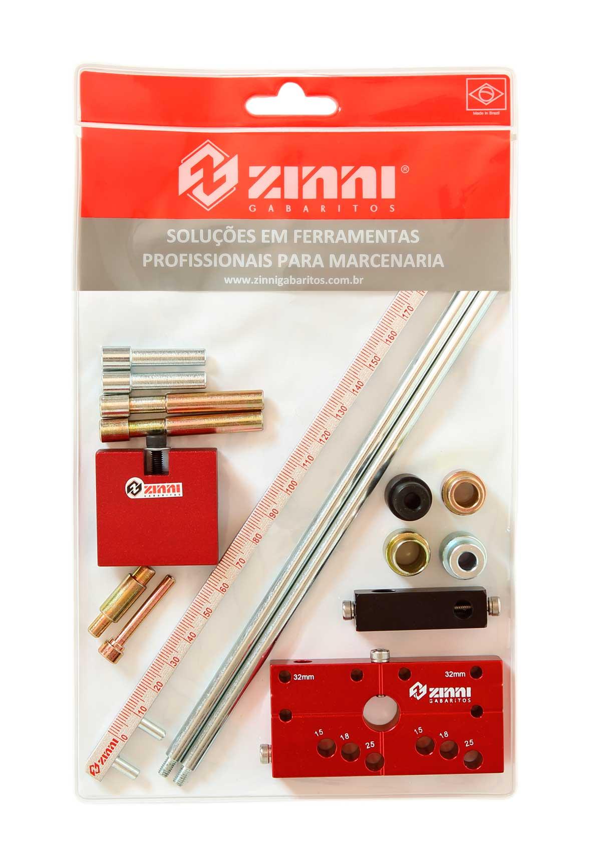 Kit #5 Bloco Flauta (Escala / Kit Buchas / Pinos) - Zinni