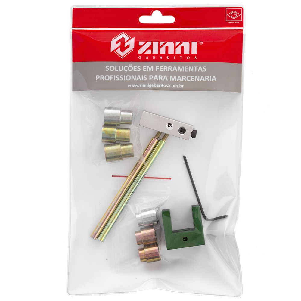 kit #7 Cavilha 18mm (Guia / Buchas / Haste / Stopper) - Zinni