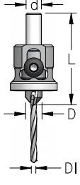 WPW - ESCAREADOR  STOPPER ( NY) 10MM C/ BROCA  4MM - H8/50