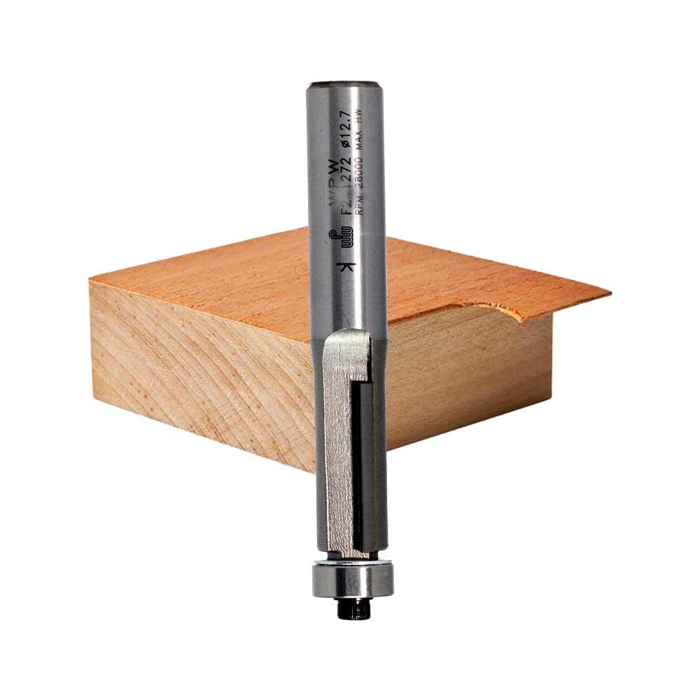 WPW - Fresa Reta com Rolamento 12,7mm x38mm - H12/96