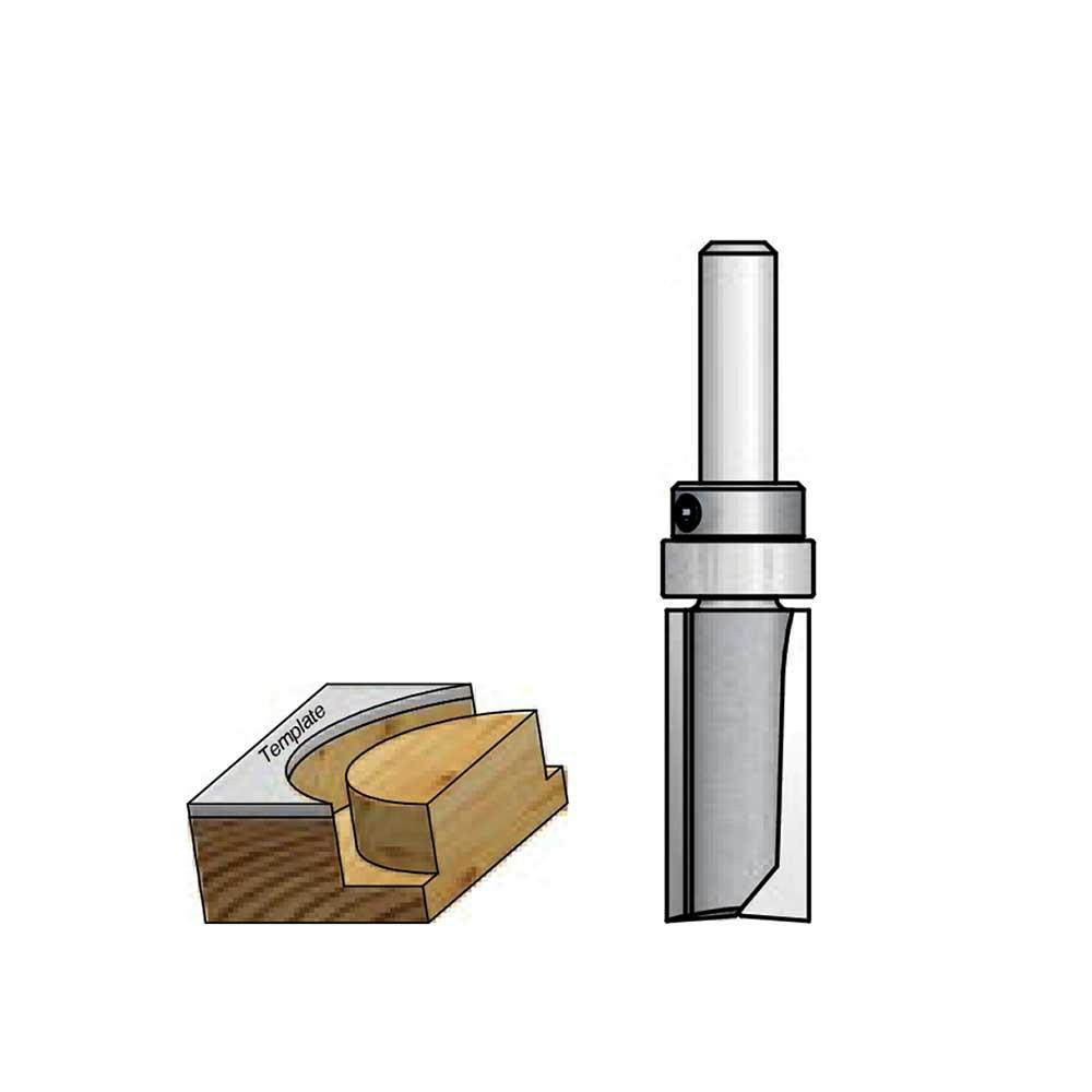 WPW - Fresa Reta com Rolamento 9,5mm x 13mm - H6/51
