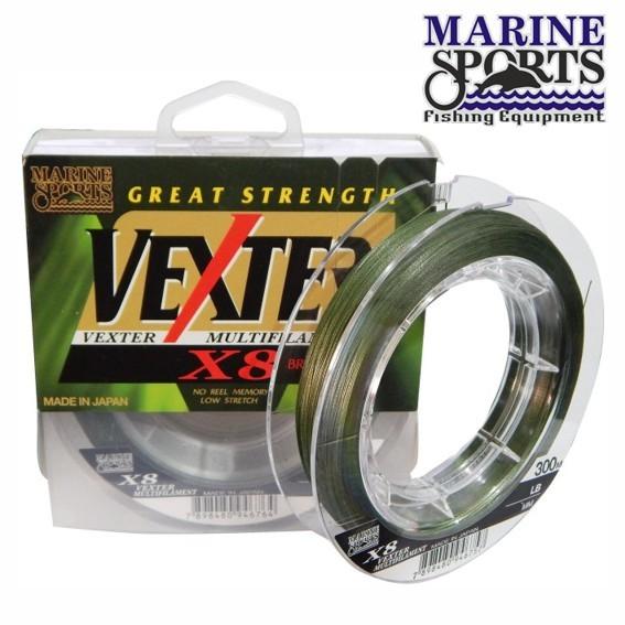 Linha Multifilamento Vexter X8 300m Verde