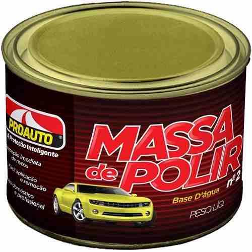 Massa De Polir Nº2 Proauto - 500g