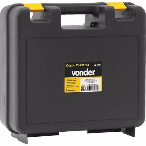 Caixa Plástica P/ Furadeira E Ferramentas Vd 6002 - Vonder
