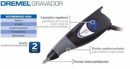 Gravador Elétrico C/controle De Força Dremel Mod.290 - 220v.