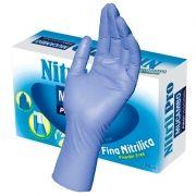 100 Luvas Nitrílicas Mucambo Nitril-pro Sem Pó (caixa)
