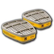 Cartucho Filtro 3m 6003 Gases Ácidos/vapores Orgânicos - 2un