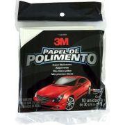 Papel / Folha Polimento 30cm X 29cm Kit C/ 10 Unidades - 3m