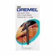 Escariador Esférico Alta Velocidade 2,4mm 3/32 - Dremel 190