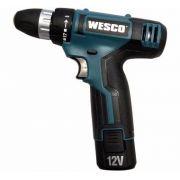 Parafusadeira/furadeira Bateria 12v - Ws2532 - Wesco