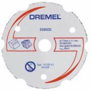 Disco P/ Corte Madeira E Plástico Dsm500 - Dremel